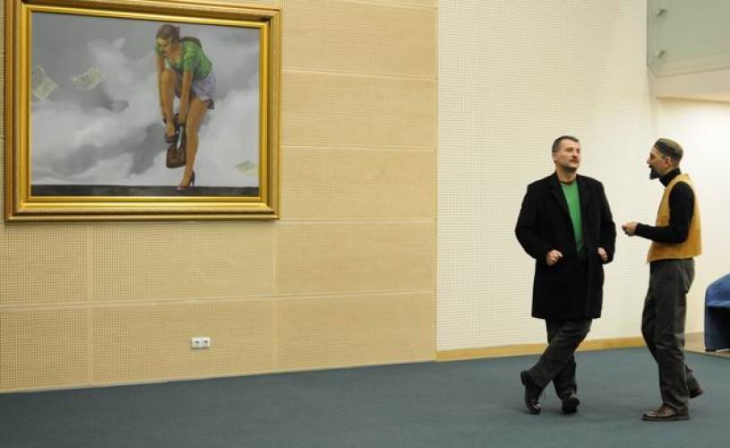 "Matei Serban şi o expoziţie: ""Circus is Coming to Town"""
