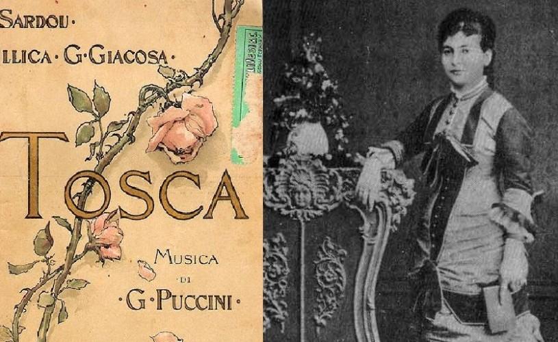 14 ianuarie în cultură – Tosca de Puccini, cu Hariclea Darclée