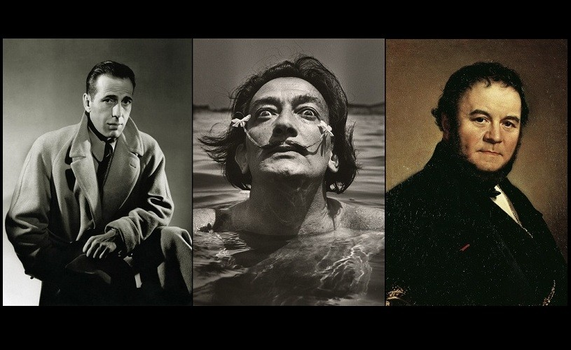Dali, Bogart & Stendhal