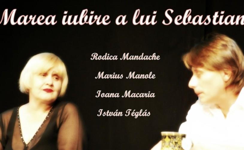 """Marius Manole, la Berlin, cu """"Marea iubire a lui Sebastian"""""""