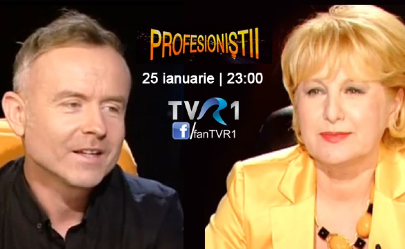 Radu Afrim, la Profesioniştii – sâmbătă, 25 ianuarie