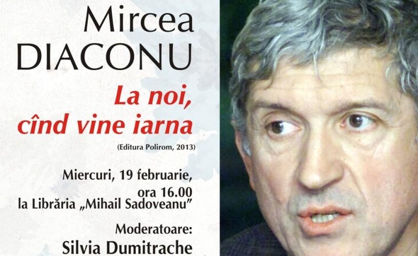 Mircea Diaconu artistul despre Mircea Diaconu copilul