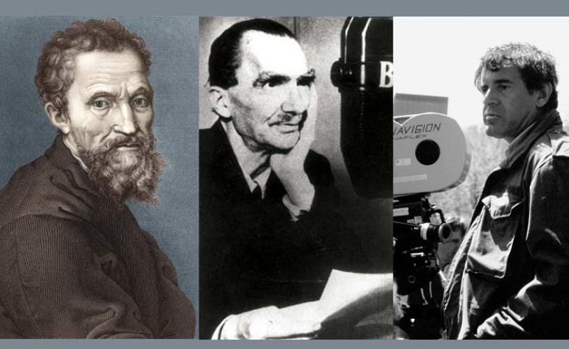 Michelangelo, Kazantzakis, Forman