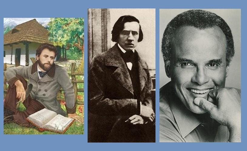 Creangă, Chopin, Belafonte