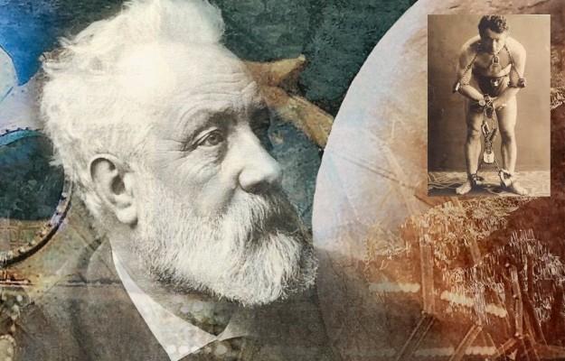 Jules Verne şi Houdini – 24 martie în cultură