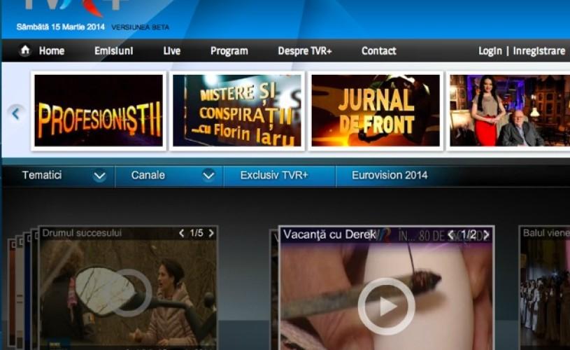 TVR, pe tabletă și pe telefonul mobil