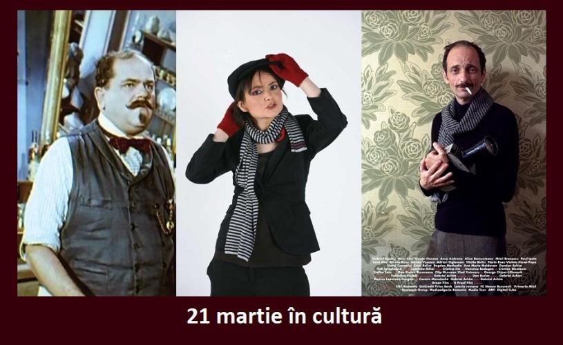 Stefan Ciubotărașu, Gabriel Spahiu şi Dorina Chiriac  – 21 martie în cultură