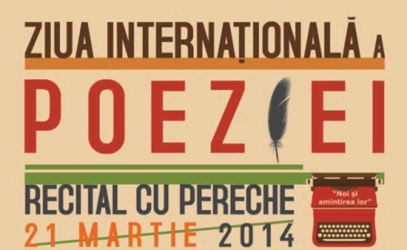 """,,Recital cu pereche"""", de Ziua Internațională a Poeziei"""