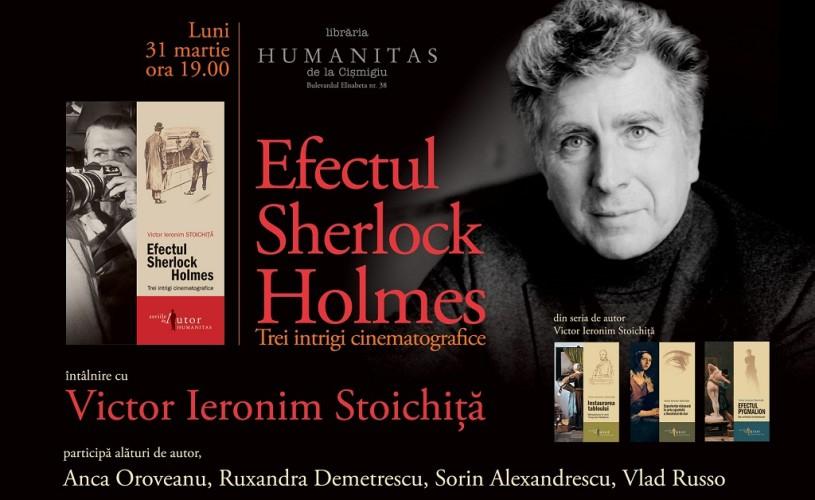 Victor Ieronim Stoichiţă vine luni la Humanitas Cişmigiu