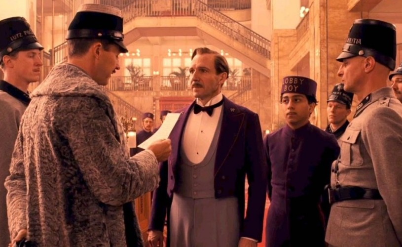 The Grand Budapest Hotel. Kino-feerie