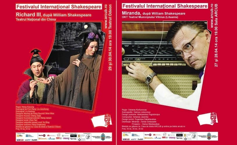 Shakespeare, în variantă chinezească, la Bucureşti