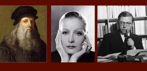 Leonardo da Vinci, Greta Garbo & Sartre – ŞTIAŢI CĂ...