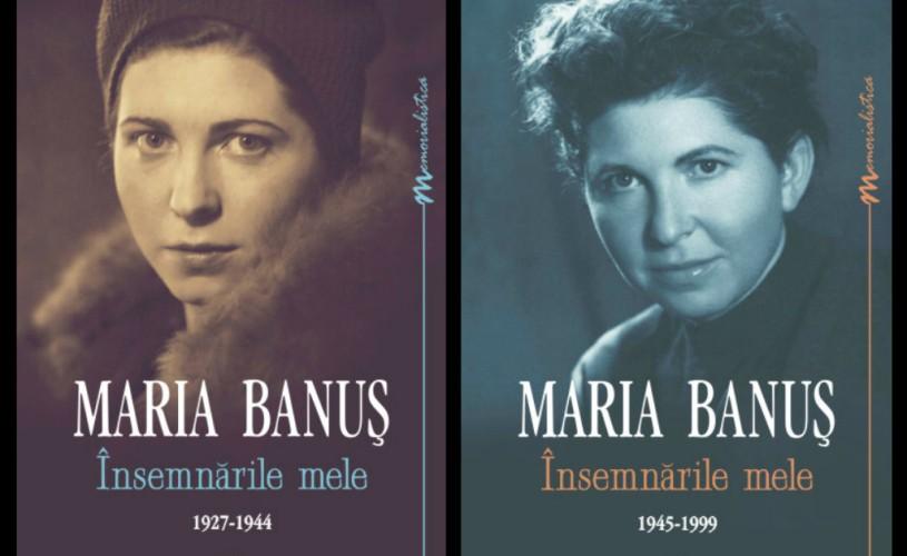 """Editura Cartea Românească a lansat """"Însemnările"""" Mariei Banuş. Citiţi un fragment din carte!"""