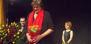 Florin Piersic, de Florii, în spectacolul