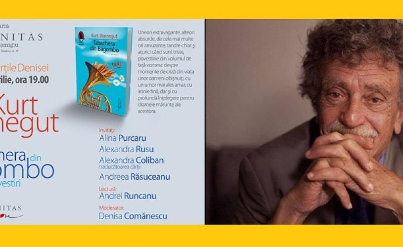 Seară Kurt Vonnegut, la Humanitas Cişmigiu