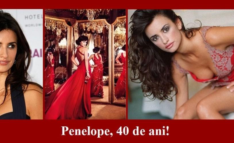 Penelope Cruz, la 40 de ani! – ŞTIAŢI CĂ…