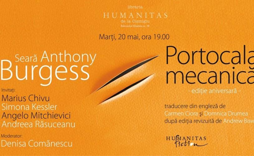 Portocala mecanica, ediţia jubiliară, la Librăria Humanitas
