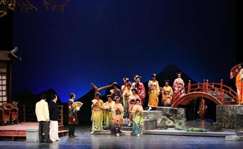 """Soprana Li Keng este """"Madama Butterfly"""", la Opera Naţională Bucureşti"""