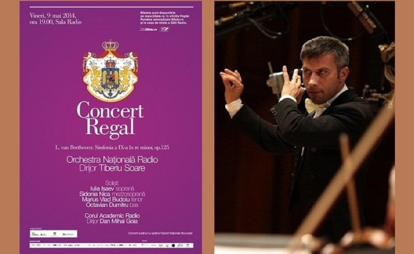 Concert regal la Sala Radio: Simfonia a IX-a cu Tiberiu Soare la pupitru