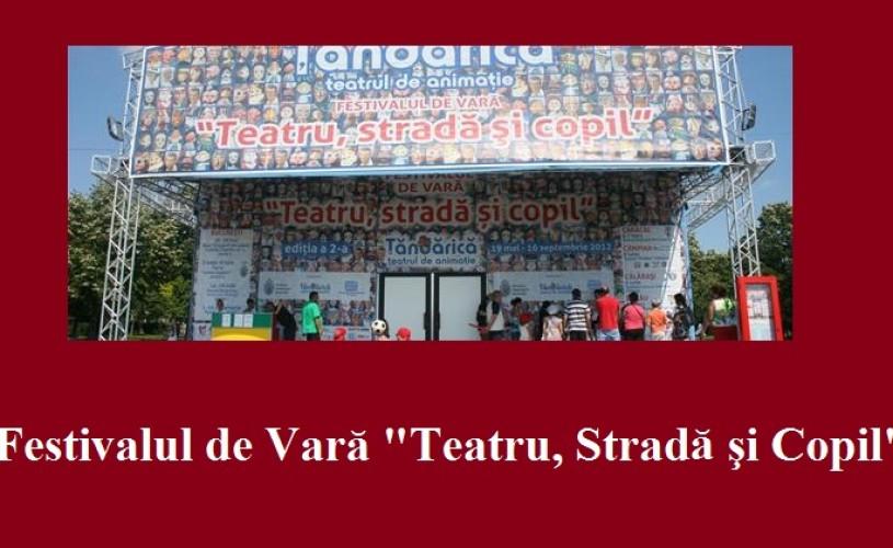 """Festivalul de Vară """"Teatru, Stradă şi Copil"""", de astăzi până pe 6 iunie"""