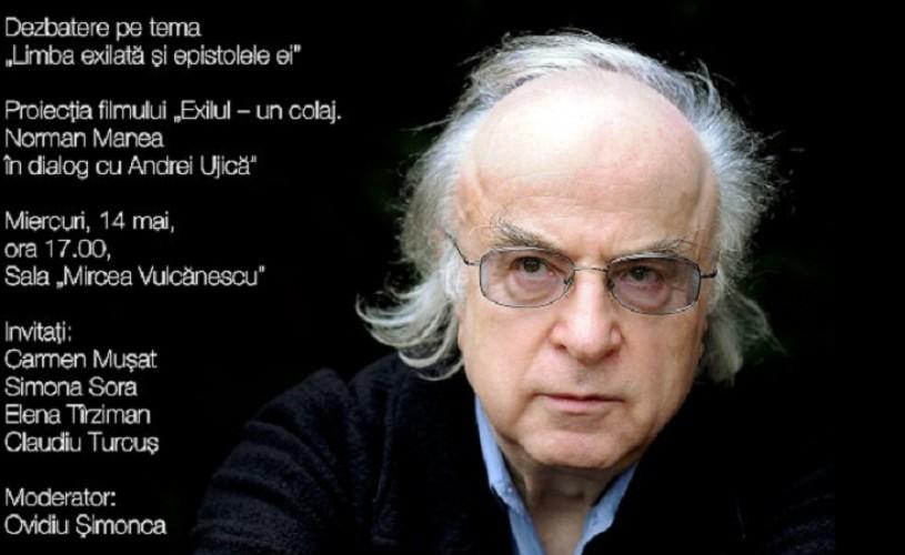 Norman Manea în dialog cu Andrei Ujică