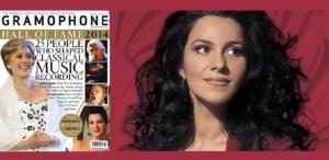 Angela Gheorghiu, pe coperta revistei britanice Gramophone