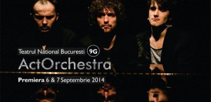 Muzica înlocuiește cuvintele în spectacolul ActOrchestra