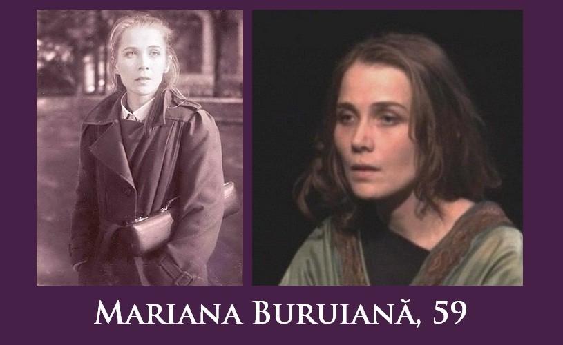 Mariana Buruiană, 59. La mulţi ani!
