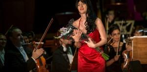 """Adriana Ferfecka - câştigătoareaConcursului """"Le Grand Prix de l'Opéra"""""""