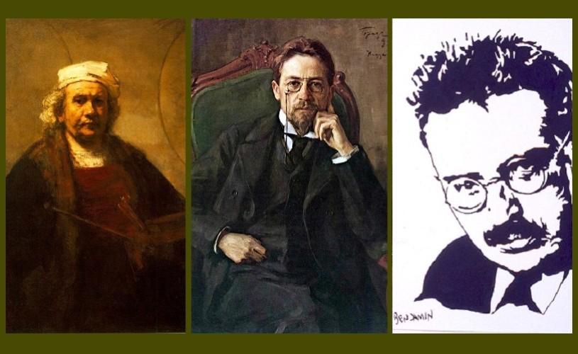 Rembrandt, Cehov & Walter Benjamin – Ştiaţi că…