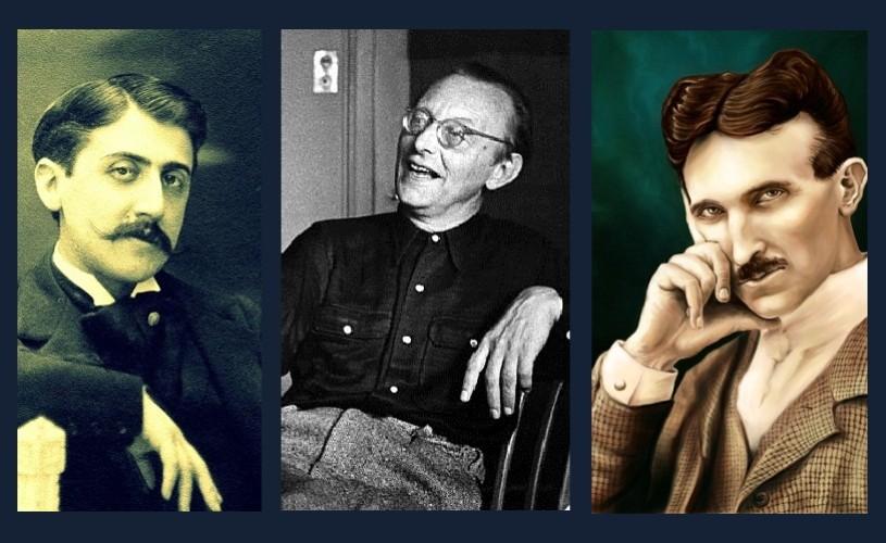 Marcel Proust, Nikola Tesla şi Carl Orff – 10 iulie