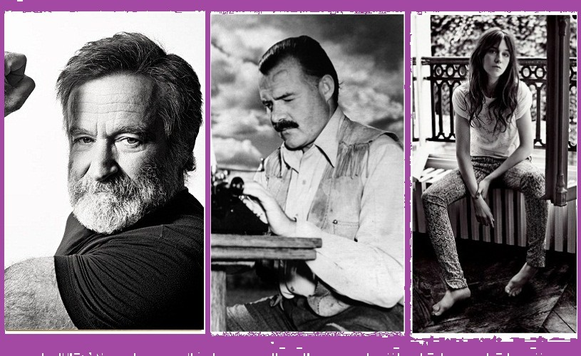 Robin Williams, Hemingway & Charlotte Gainsbourg