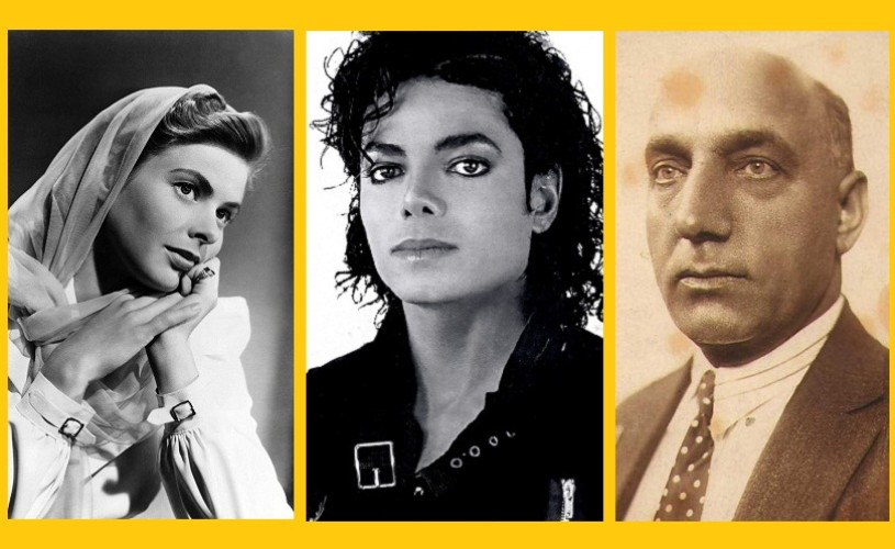Ingrid Bergman, Michael Jackson şi Constantin Tănase – 29 august