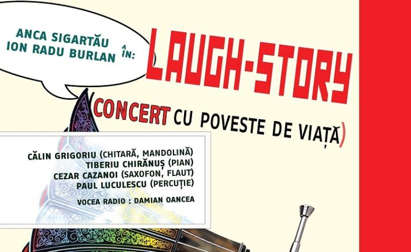 Laugh Story, cu Anca Sigartău, în avanpremieră la Teatrul ARCA