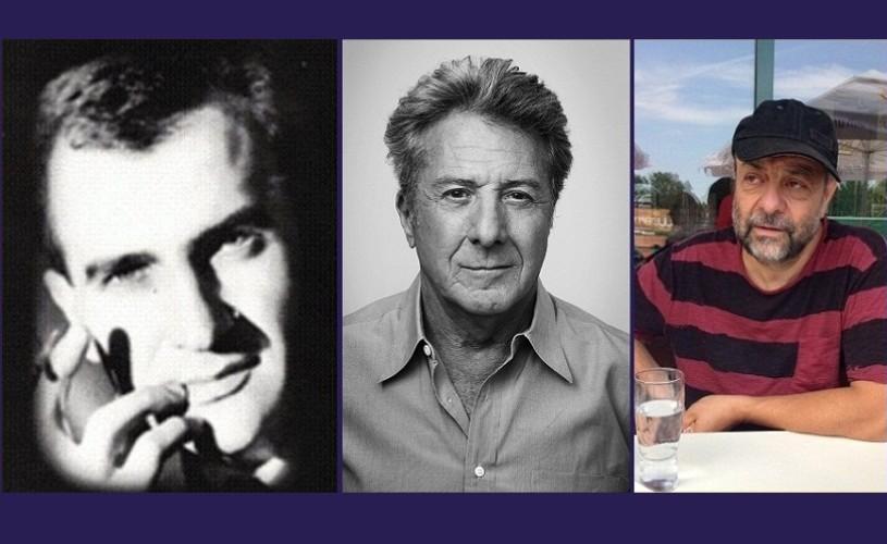 Emanoil Petrut, Dustin Hoffman & Tompa Gábor