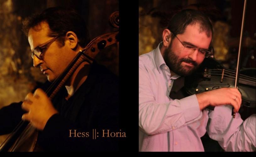 Bach to the future – primul concert al Duetului Hess ||: Horia