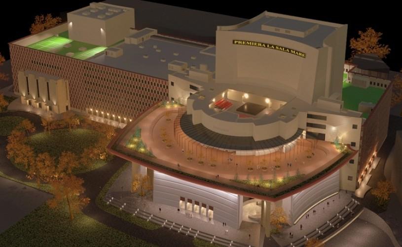 TNB – spectacole şi proiecte promiţătoare, într-o clădire aproape nouă