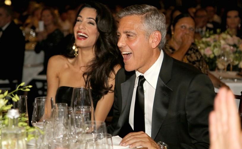 """George Clooney s-a căsătorit cu avocata Amal Alamuddin, la Veneţia – """"nunta anului"""""""