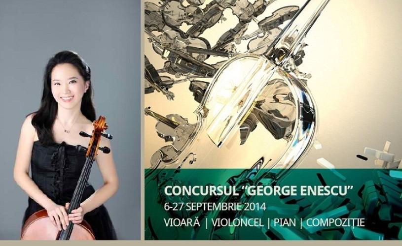 Eun–Sun Hong (Coreea de Sud) a câştigat Concursul Enescu 2014, Secţiunea Violoncel