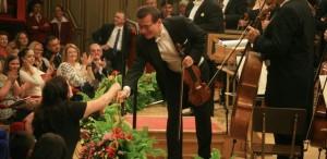 Concursul George Enescu - deschidere cu ropote de aplauze