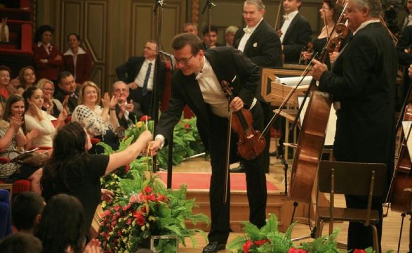 Concursul George Enescu – deschidere cu ropote de aplauze