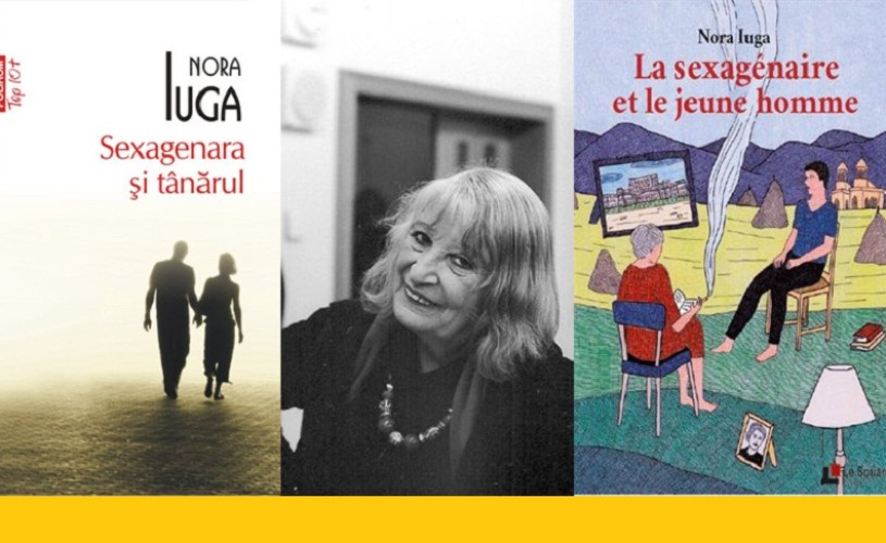 Sexagenara şi tânărul, de Nora Iuga, publicat în Franţa