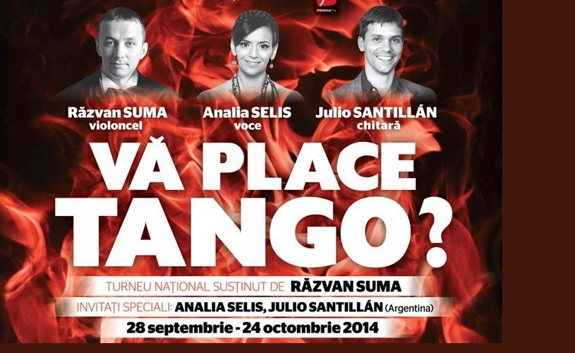 Va place tango? 13 concerte în 12 oraşe din România