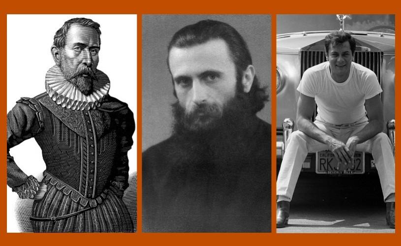 Cervantes, Arsenie Boca, Tony Curtis…