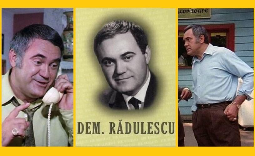 I se zicea Bibanul – Dem Rădulescu, în 7 roluri memorabile