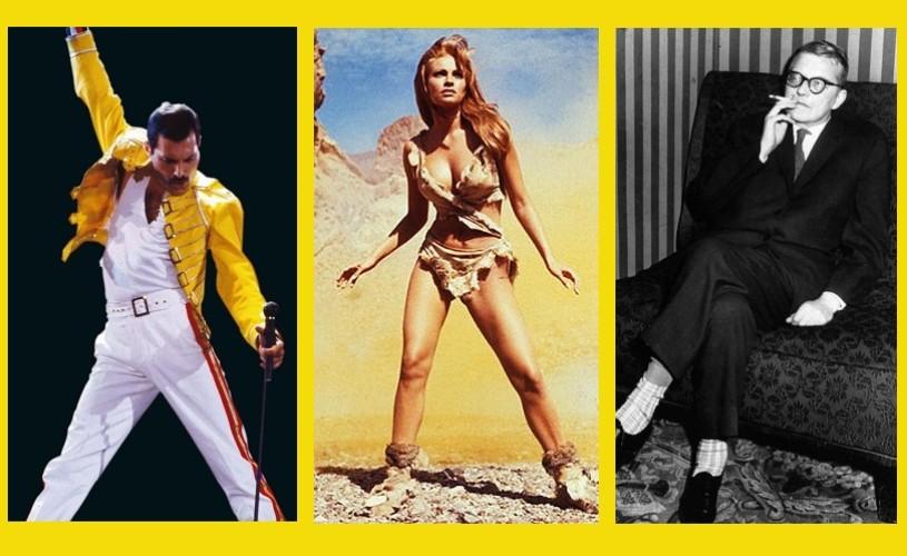 Freddie Mercury, Raquel Welch, Dmitri Șostacovici…