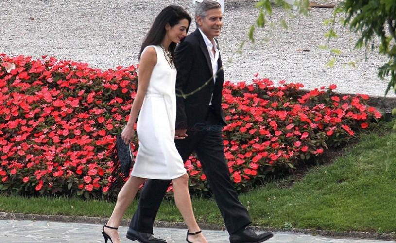 George Clooney se căsătoreşte vineri la Londra