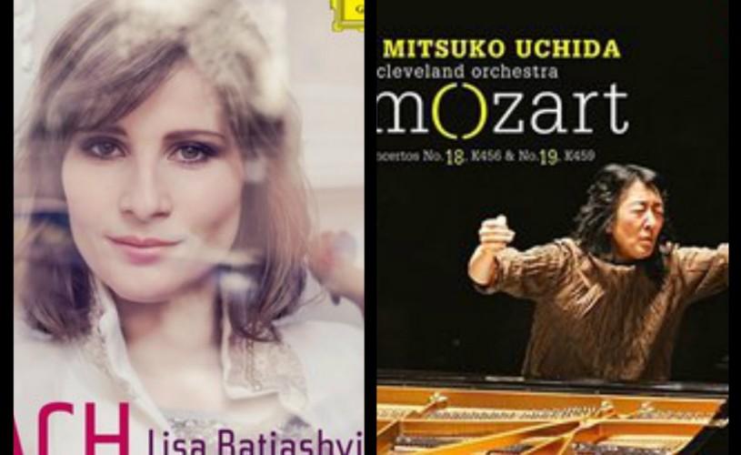 Lisa Batiashvili cântă Bach, Mitsuko Uchida – Mozart. Admirabil!