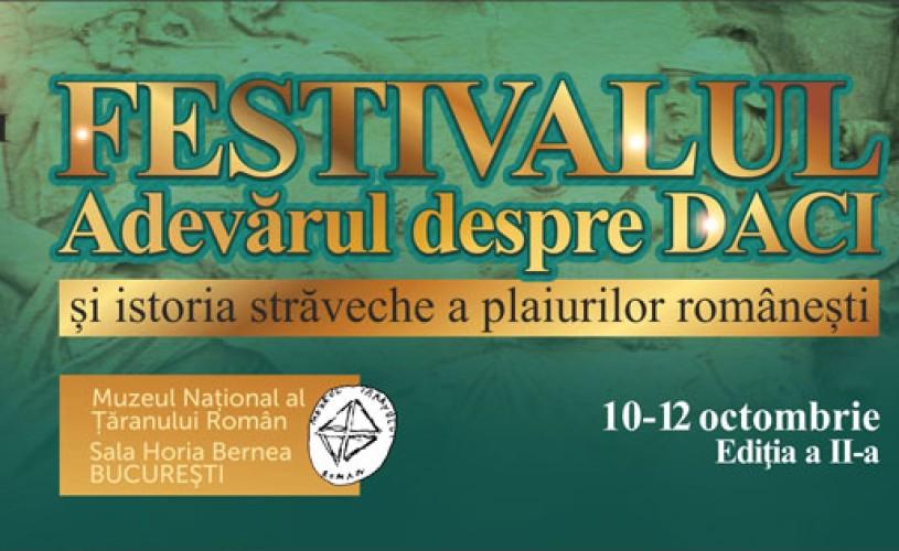 """Festivalul """"Adevărul despre Daci și Istoria străveche a plaiurilor românești"""" la Muzeul Țăranului Român"""