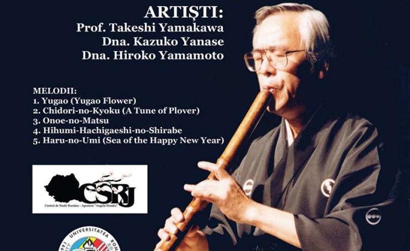 Concert și prezentare – Muzică tradițională japoneză